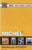 MICHEL West-Europa Part 6 Katalog 2015/2016 New 66€ Belgien Irland Luxemburg Niederlande UK GB Jersey Guernsey Man Wales - Télécartes