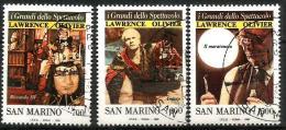 1990 SAN MARINO I Grandi Dello Spettacolo Serie Completa Usata - San Marino