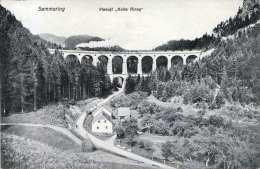 Viadukt Kalte Rinne Am Semmering, Karte Gel.1910 V.Semmering N.Wien - Non Classificati