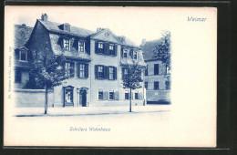 CPA Weimar, Friedrich Schiller's Wohnhaus - Writers