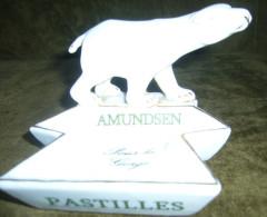 Publicité - Bistrot - Pyrogène - Pastille Amundsen - Ours Blanc - Pole Nord - Pyrogenes