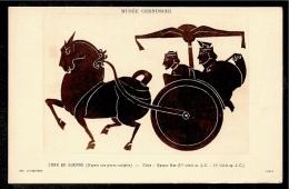 CPA Post Card CHINE CHINA Chinese Antiquity CHAR De Guerre (d'après Pierre Sculptée) époque HAN * Antiquité Chinoise - Cina