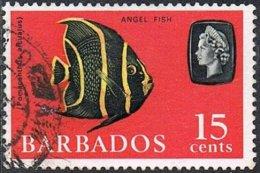 Barbados SG350 1966 Definitive 15c Good/fine Used - Barbados (...-1966)