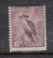 Australia 1937-49 King George VI Perforated 14x15, ASC 200 6d Kookaburra MNH - 1937-52 George VI