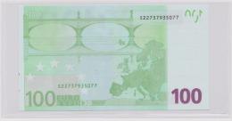 100 Euro 2002 Trichet (UNC) - S22737935077 / J030F4 (Italy, Italie, Italien, Italia) - EURO