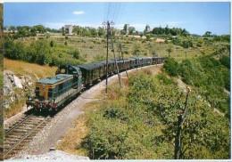 CP Trains - 12 Aveyron - Train Mixte Marchandises Voyageurs 4184 Capdenac Rodez - Cp N° 91 - France