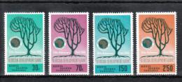 Ostafrika 1969**, 5 Jahre Afrik. Entw.-Bank, Sukkulenten / East Africa 1969, MNH, 5 Years Afr. Devel. Bank, Succulents - Hotels- Horeca