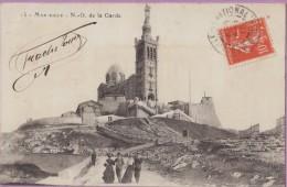 13  °°  Marseille   :-  La  Montée  Vers  Notre-Dame  De  La  Garde *   écrite   14 05 1911   ***   T B E - Sonstige Sehenswürdigkeiten