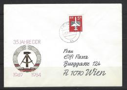 DDR - Beleg Mi-Nr. 2967 Flugpostmarke Höchstwert - [6] Democratic Republic