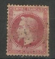 France - 1863 Napoleon 80c Rose-claret Used       SG  122   Sc 36 - 1863-1870 Napoleon III With Laurels