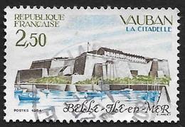 FRANCE  1984 -  Y&T  2325  -  Vauban  - Belle Ile - Oblitéré - Used Stamps