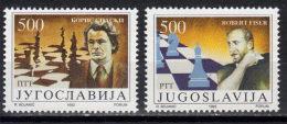 Yugoslavia,Chess Match Fischer-Spaski 1992.,MNH - 1992-2003 Federal Republic Of Yugoslavia