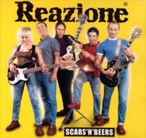 REAZIONE - Scars'n'beers - LP - DIRTY PUNK - 4 SKINS - SEX PISTOLS - Punk