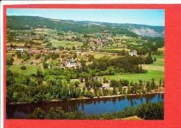 24 CAZOULES Cp Vue Aérienne Camping Municipal    3083 René - Andere Gemeenten