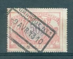 """BELGIE - OBP Nr TR 35 - Cachet  """"TURNHOUT Nr 1"""" - (ref. VL-8301) - Chemins De Fer"""