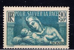 F+ Frankreich 1939 Mi 437 Mnh Rasse - France