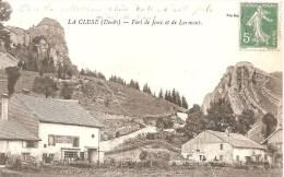 Cpa 25 La Cluse Fort De La Joux Et De Larmont - Other Municipalities