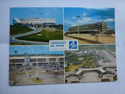 Aéroport De Paris Roissy Charles De Gaulle , Orly , Le Bourget - Aérodromes