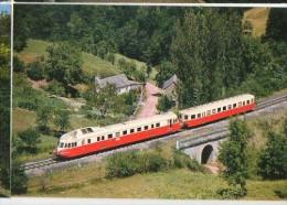 CP Trains - 12 Aveyron - Autorail X 4900 Vers NUCES - France