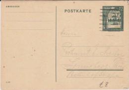 Generalgouvernement GG Ganzsache P 10 Warschau 1941 - Occupation 1938-45
