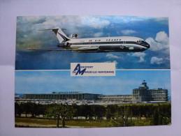 Aéroport De Marseille Marignane , Compagnie Air France , Boeing 727 - Aérodromes
