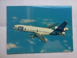 Aviation , Avion DC 10-30 , Compagnie UTA - Aerodromes