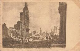 BRUXELLES -VUE EN PROFIL DE LA MAISON DE L'ARC SUR LE GRAND MARCHE - Tir à L'Arc