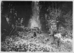 """63 - Le Mont-Dore - """" Cascade - Animée""""- Mai.1924 - Photo Ancienne Format Album (10 X 15,5 Cm) Voir 2 Scans - Photos"""