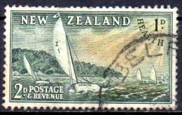 NEW ZEALAND 1951 Health Stamps - 2d.+1d  Takapuna Class Yachts FU - Gebraucht