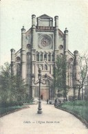 BELGIQUE - BELGÏE - GANT - GENT - Eglise Sainte Anne - Gent