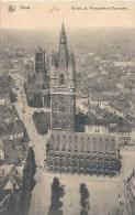 BELGIQUE - BELGÏE - GANT - GENT - Beffroi église Saint Nicolas Et Panorama - Gent