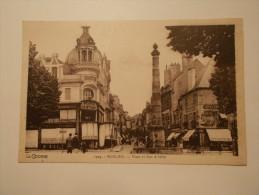 Carte Postale - MOULIN (03) - Place Et Rue D'Allier (348/100) - Moulins