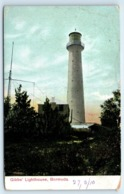 POSTCARD GIBBS LIGHTHOUSE BERMUDA POSTED DATE UNCLEAR - Postcards