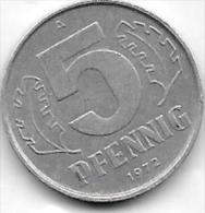 5 PFENNIG Alu RDD 1971 A CL. 16 - [ 6] 1949-1990 : GDR - German Dem. Rep.
