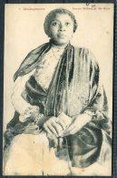 1911 Madegascar Femme Metisse De Ste-Marie Postcard - Pathe Photo Film Pa Via La Reunion A Marseilles Paquebot Maritime - Madagascar (1889-1960)
