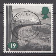 GRANDE-BRETAGNE 1994 Mi.1488 Dampflokomotiven OBLITÉRÉ-USED-GEBRUIKT - Used Stamps