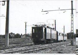 CP Trains - 13 B D R - Train De Voyageurs Au Départ D' Arles - Cp N° 613.3 - Arles
