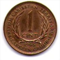 Eastern Caribbean British 1 Cent 1965 - Monete