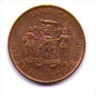 Giamaica Jamaica 25 Cents - Giamaica