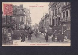 Verdun ( Meuse 55) - Rue De L' Hotel De Ville ( Animée Publicite Maggi Chocolat Menier Pharmacie ...Ed. Debergue ) - Verdun