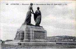 76 LE HAVRE ++ Monument De La Reconnaissance Belge (H. Derée Arch.) ++ - Altri