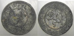 10 Cent 1916 - 1831-1865: Léopold I
