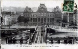 76 LE HAVRE ++ Le Pont Du Commerce Et La Bourse ++ - Altri