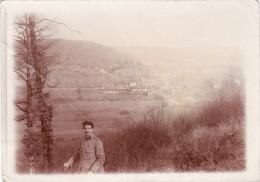 Photo Mars 1918 LE CLAON (près Clermont-en-Argonne) - Vallée De La Biesme, Une Vue (A110, Ww1, Wk 1) - Non Classés