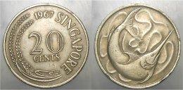 20 Cents 1967 - Singapore