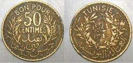 50 Centimes 1921 - Tunisie