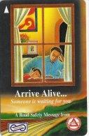 Malaysia (Uniphonekad) - Arrive Alive... 29USBA, 1995, 150.000ex, Used - Malaysia