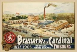 @@@ MAGNET - Fribourg, Brasserie Du Cardinal - Advertising