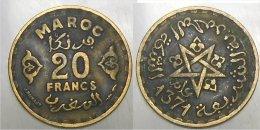 20 Francs - Marruecos