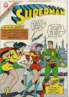 12668 MAGAZINE REVISTA MEXICANAS COMIC SUPERMAN Nº 570 AÑO 1966 ED NOVARO DETALLE EN LA TAPA - Bücher, Zeitschriften, Comics